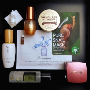 Korean beauty skincare routine