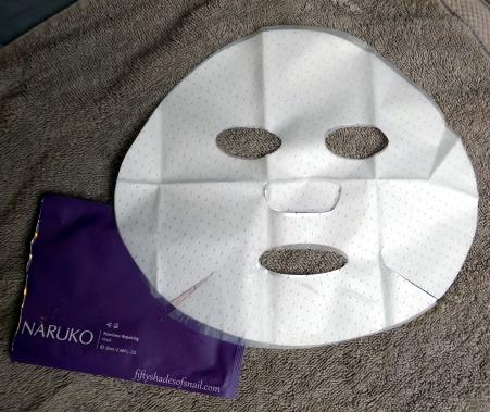 Naruko Narcissus Repairing Mask shape