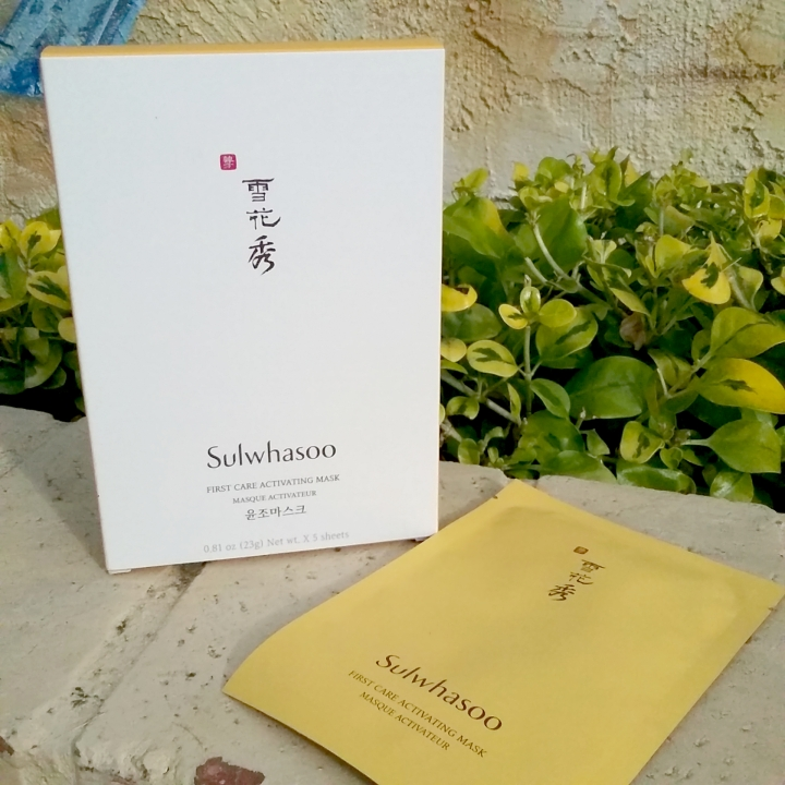 Review: Sulwhasoo First Care Activating Mask (plus Special Event Masking Tips)