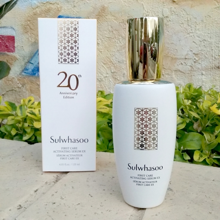 Sulwhasoo First Care Activating Serum EX 20th Anniversary packaging