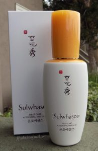 Sulwhasoo First Care Activating Serum EX Fifty Shades of Snail review