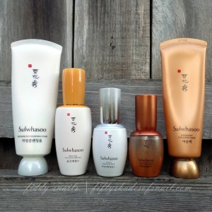 Sulwhasoo Korean skincare products