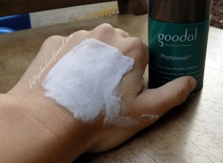 Goodal Phytowash Yerba Mate Bubble Peeling foam