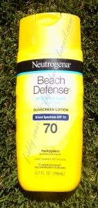 Neutrogena Beach Defense Sunscreen SPF 70