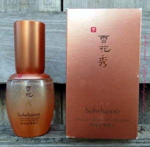 Sulwhasoo Capsulized Ginseng Fortifying anti-aging serum