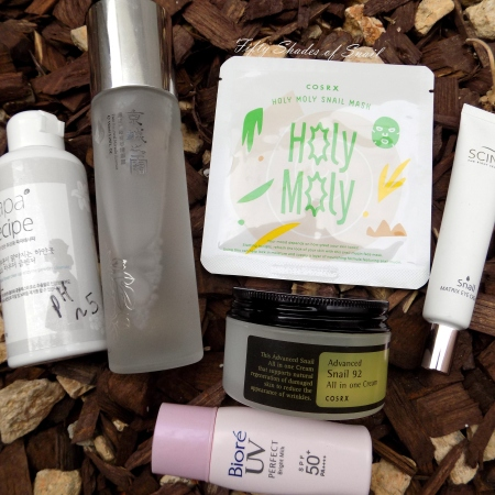 Cosrx Holy Moly Snail Mask in skincare routine