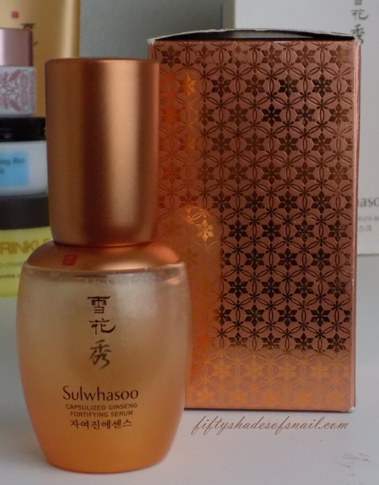 Sulwhasoo Capsulized Ginseng Fortifying Serum empty