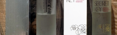 Secret Key Starting Treatment Essence (Rose) vs Naruko Face Renewal Miracle Essence