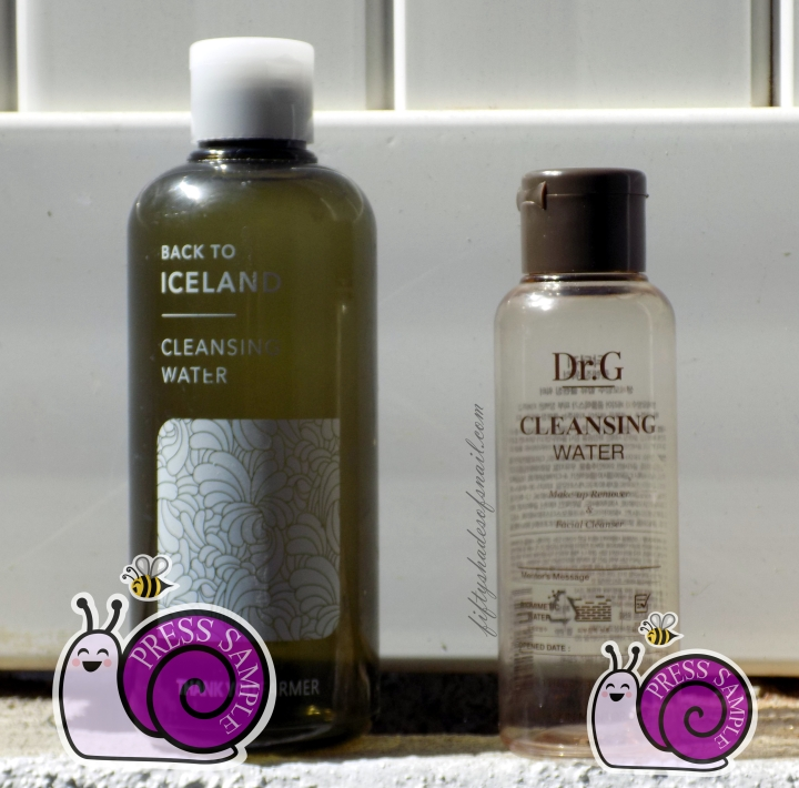 Korean cleansing water empties