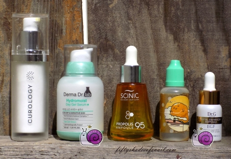 Empty serum and ampoule products
