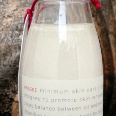Hyggee Balance One Step Facial Essence oil and water mixed