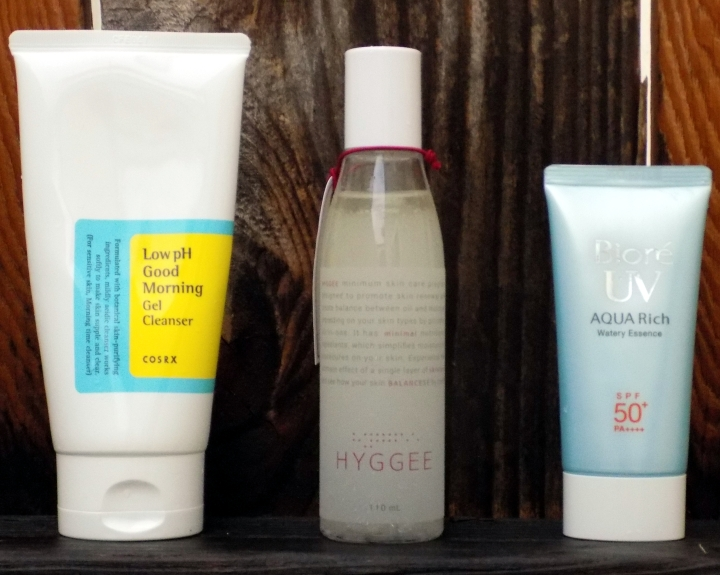 Skincare routine with Hyggee Balance One Step Facial Essence