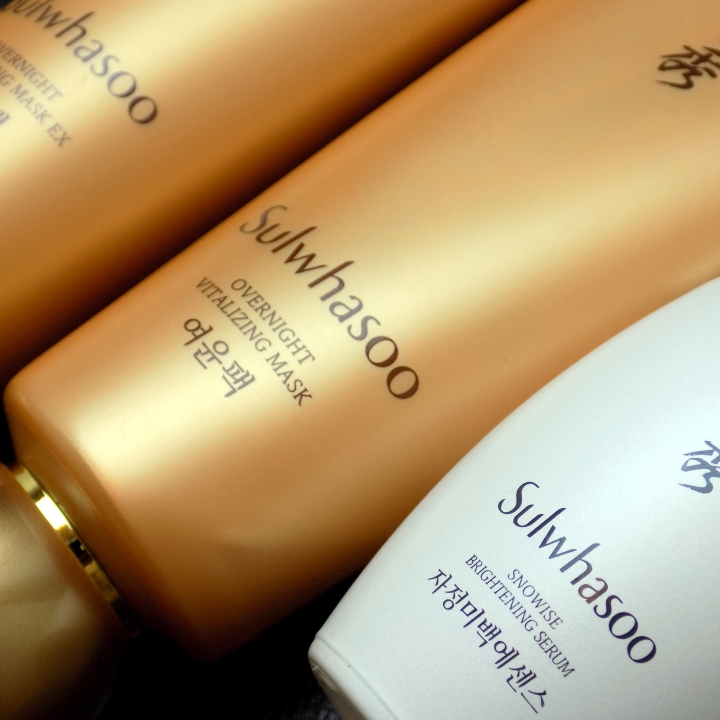 Sulwhasoo Overnight Vitalizing Mask and Snowise Brightening Serum reviews