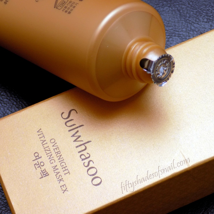 Sulwhasoo Overnight Vitalizing Mask EX reformulation