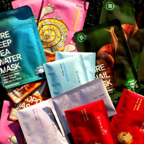 Sheet masks from Amazon Prime