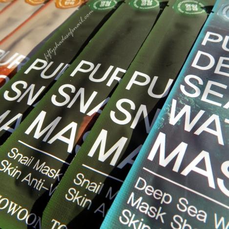 Tosowoong sheet masks on Amazon Prime