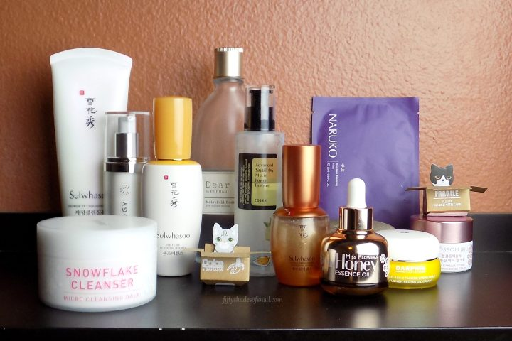 Product order in skincare routine