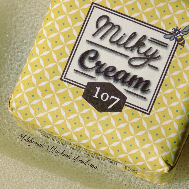 107 Milky Cream bar soap