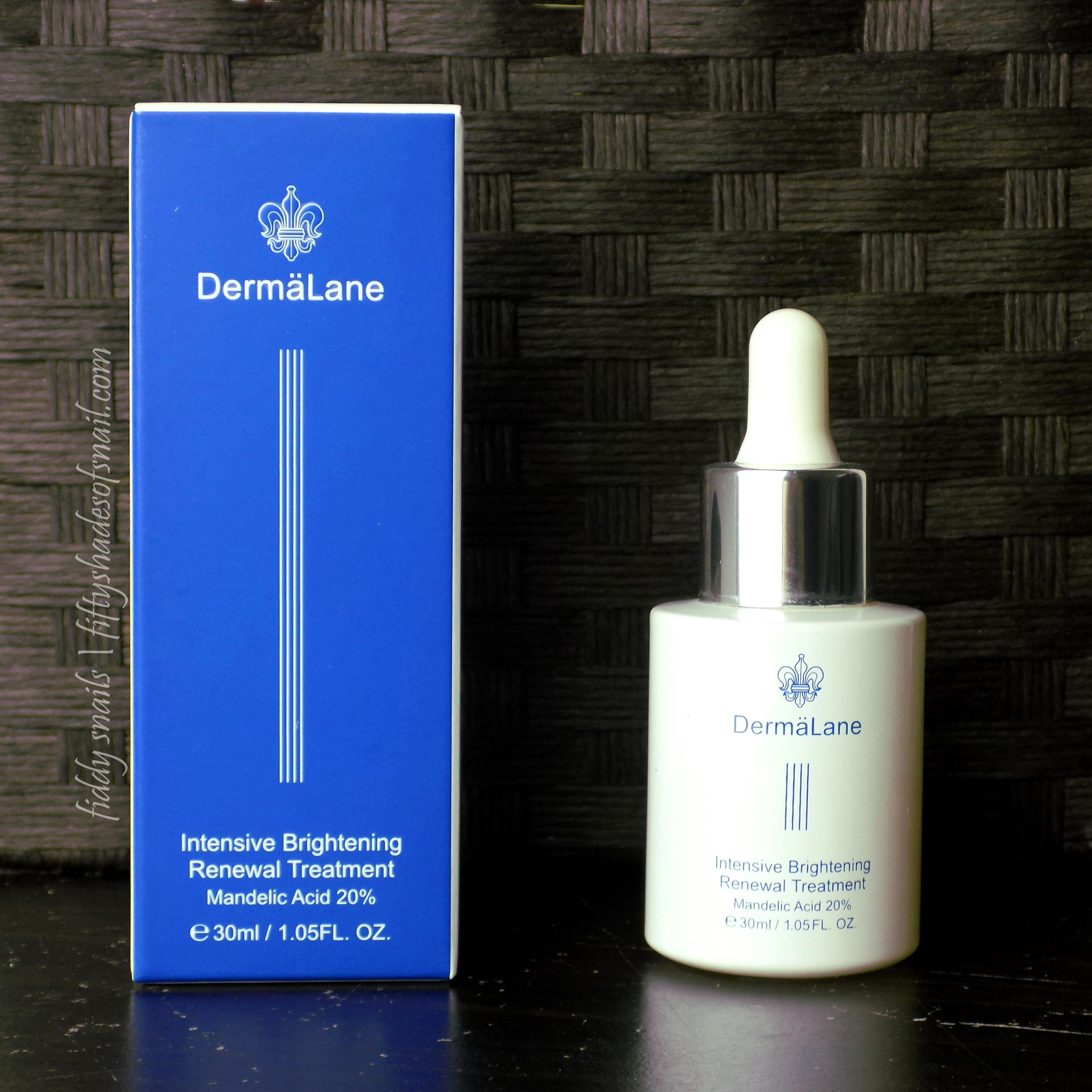 Review Naruko Dermalane Intensive Brightening Renewal Treatment 20