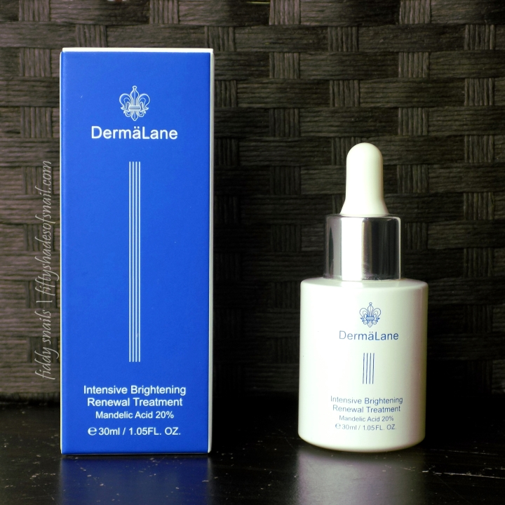 Review: Naruko Dermalane Intensive Brightening Renewal Treatment 20% Mandelic Acid AHA