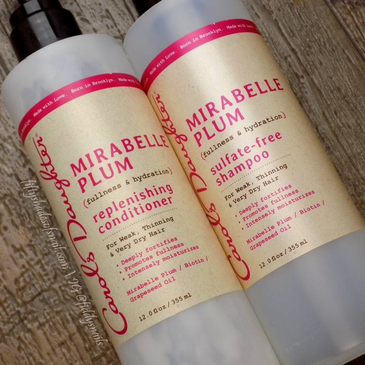 Carol's Daughter Mirabelle Plum haircare