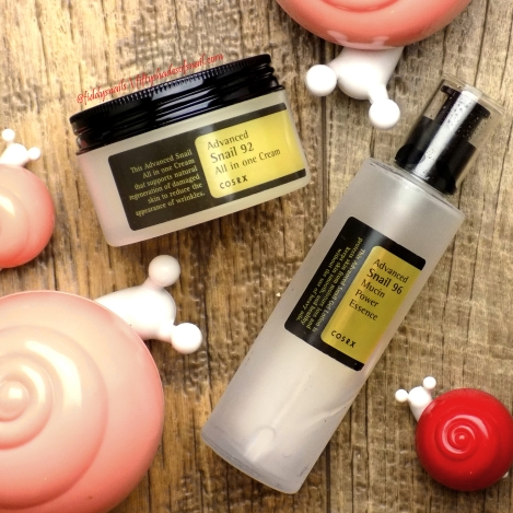 Best snail skincare of 2016 Cosrx