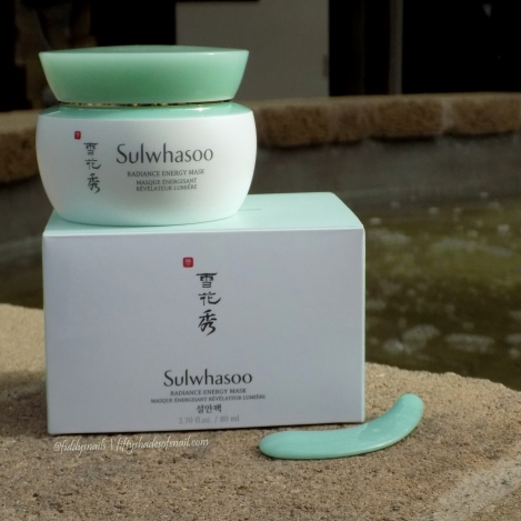 Sulwhasoo Radiance Energy Mask review