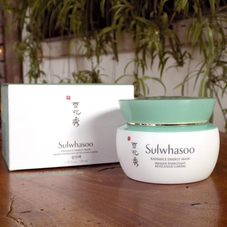 Sulwhasoo Radiance Energy Mask sleeping pack
