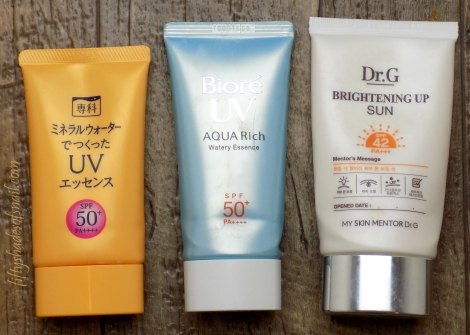 Fifty Shades of Snail favorite sunscreens