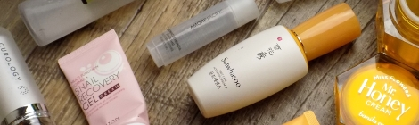 Fifty Shades of Snail skincare empties