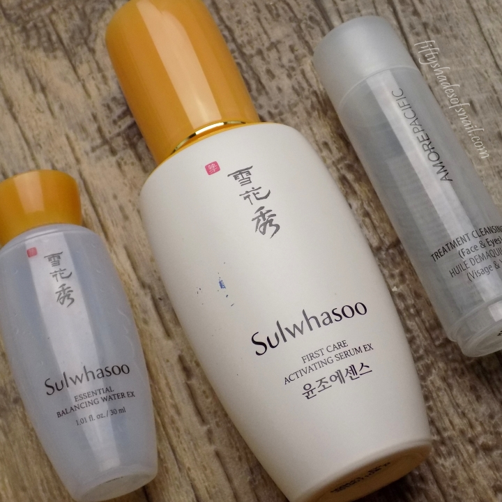 Sulwhasoo and Amorepacific empties