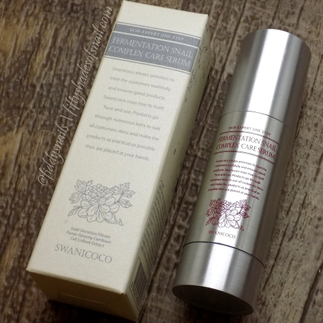 Swanicoco Fermentation Snail Complex Care Serum review