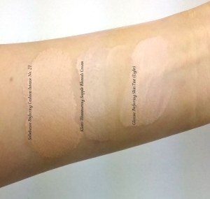 Sulwhasoo Perfecting Cushion Intense no 21 swatch