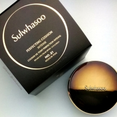 Sulwhasoo Perfecting Cushion Intense review