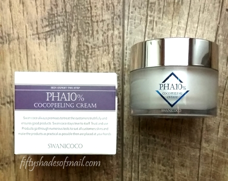 Swanicoco PHA cream review
