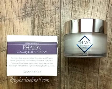 Swanicoco PHA cream review