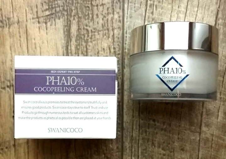 Swanicoco PHA 10% Coco Peeling Cream review