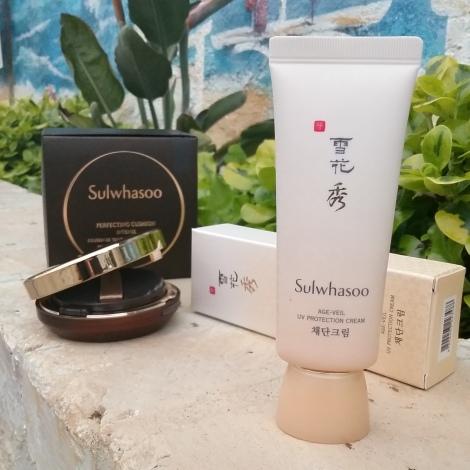 Sulwhasoo sunscreen and cushion review