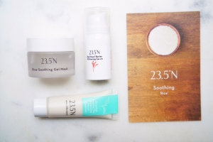 23.5N soothing skincare set