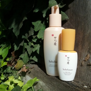 Sulwhasoo cleansing oil and First Care Activating Serum EX