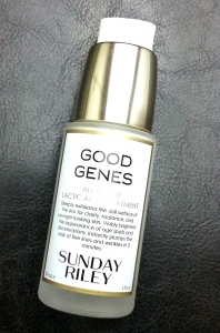 Sunday Riley Good Genes bottle