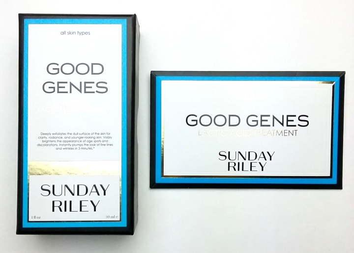 Review: Sunday Riley Good Genes Lactic Acid Treatment