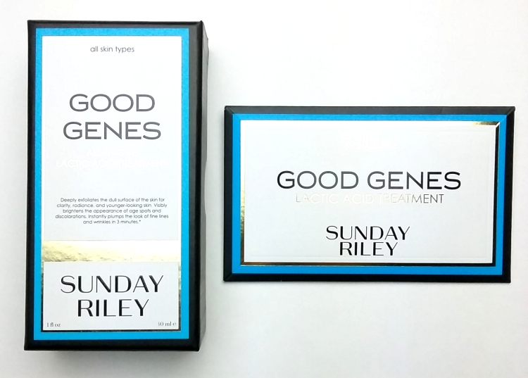Sunday Riley Good Genes review
