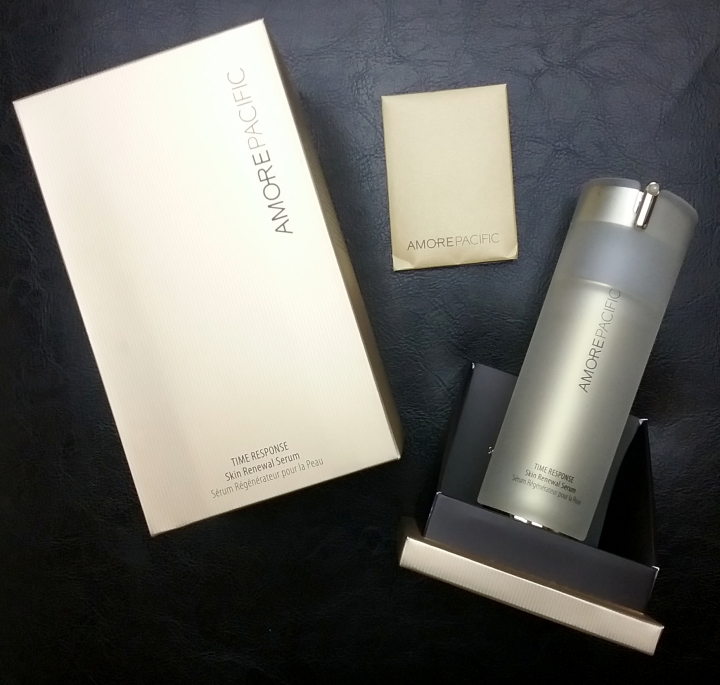 Amorepacific Time Response Skin Renewal Serum unboxed