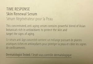 Amorepacific Time Response Skin Renewal Serum claims