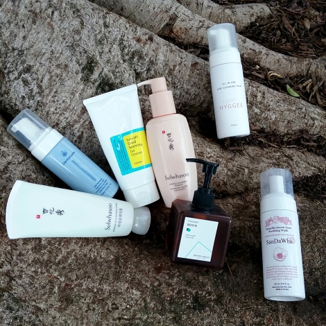 Low pH Korean cleansers