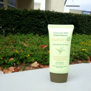 SanDaWha Green Tea Mild Foam Cleanser