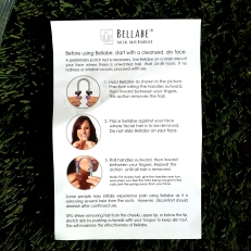 Bellabe epilating spring instructions 1