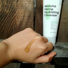 Krave Beauty Matcha Hemp Hydrating Cleanser texture