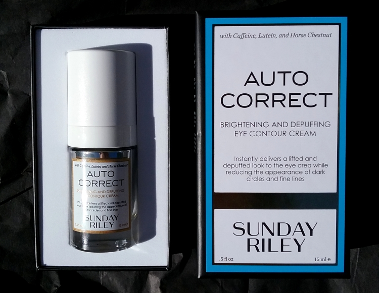 Sunday Riley Auto Correct review